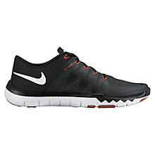 Buy Nike Free Trainer 5.0 V6 Men's Cross Trainers, Black/White Online at johnlewis.com