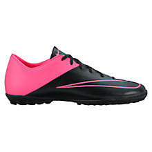 Buy Nike Mercurial Victory V FG Men's Football Boots, Black/Pink Online at johnlewis.com