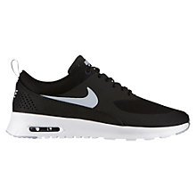 Buy Nike Air Max Thea Women's Cross Trainers, Black/Grey Online at johnlewis.com