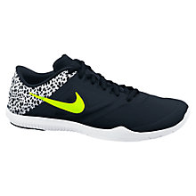 Buy Nike Studio 2 Women's Cross Trainers, Black/Yellow Online at johnlewis.com