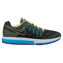 Buy Nike Air Zoom Vomero 10 Men's Running Shoes, Green/Black Online at johnlewis.com