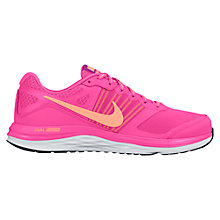 Buy Nike Dual Fusion X Women's Running Shoes, Pink Online at johnlewis.com