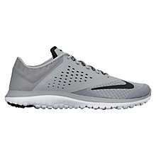 Buy Nike FS Lite Run 2 Men's Running Shoes, Black/Grey Online at johnlewis.com