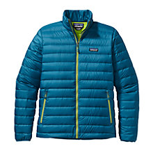 Buy Patagonia Down Jumper Jacket, Blue Online at johnlewis.com