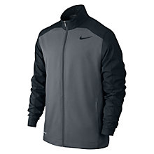Buy Nike Team Woven Full Zip Jacket, Cool Grey Online at johnlewis.com
