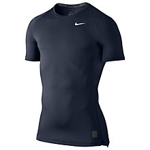 Buy Nike Pro Cool Compression Top, Navy Online at johnlewis.com
