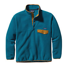 Buy Patagonia Synchilla Snap T Men's Fleece, Blue Online at johnlewis.com