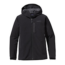 Buy Patagonia Adze Hybrid Hoodie Men's Jacket, Black Online at johnlewis.com