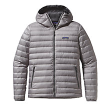 Buy Patagonia Down Jumper Men's Hooded Jacket, Grey Online at johnlewis.com