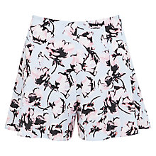 Buy Miss Selfridge Petite Floral Skort, , Blue Online at johnlewis.com