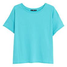 Buy Mango Cotton T-Shirt Online at johnlewis.com