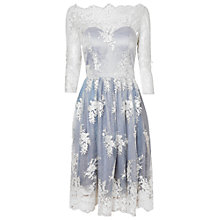 Buy True Decadence Skater Dress, Light Blue Cream Online at johnlewis.com