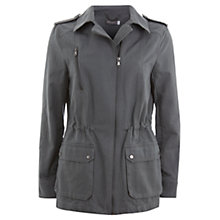 Buy Mint Velvet Military Jacket, Khaki Online at johnlewis.com