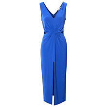 Buy True Decadence Cut Out Midi Dress, Royal Blue Online at johnlewis.com