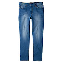 Buy Violeta by Mango Slim Susan Jeans, Open Blue Online at johnlewis.com