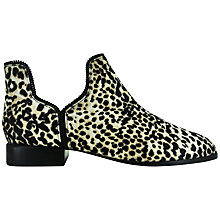 Buy Senso Bailey III Pony Ankle Boots, Leopard Online at johnlewis.com