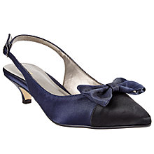 Buy John Lewis Dorchester Bow Slingback Court Shoes Online at johnlewis.com