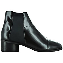 Buy Senso Karina II Patent Leather Chelsea Boots, Ebony Online at johnlewis.com