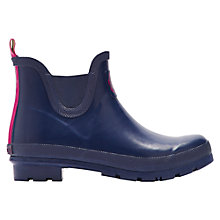 Buy Joules Wellibob Short Rubber Boots, Navy Online at johnlewis.com