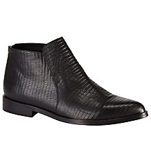 Buy Kin by John Lewis Genie Leather Ankle Boots Online at johnlewis.com