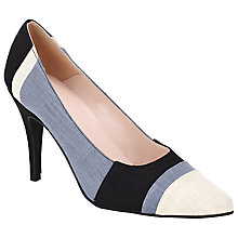 Buy John Lewis Amber Stiletto Heeled Court Shoes, Multi Online at johnlewis.com