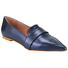 Buy Kin by John Lewis Ghita Metallic Toe Pointed Loafers Online at johnlewis.com