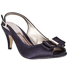 Buy John Lewis Dorset Sling Back Peep Toe Sandals Online at johnlewis.com
