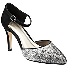 Buy John Lewis Blake Occasion Closed Court Shoes, Silver Online at johnlewis.com