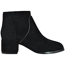 Buy Senso Isla III Suede Ankle Boots, Ebony Online at johnlewis.com