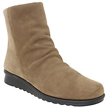 Buy John Lewis Designed for Comfort Peony Nubuck Ankle Boots Online at johnlewis.com