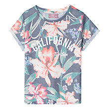 Buy Mango Kids Girls' Tropical Print T-Shirt, Multi Online at johnlewis.com