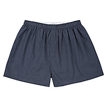 Buy Sunspel Woven Diamond Boxers Online at johnlewis.com