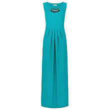 Buy Planet Beaded Maxi Dress, Teal Online at johnlewis.com