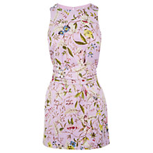 Buy Oasis V&A Trinity Tunic, Lilac Online at johnlewis.com