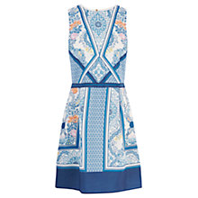 Buy Oasis V&A Spitalfields Ornate Dress, Multi Online at johnlewis.com