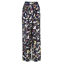 Buy Oasis Annamaria Wide Leg Trousers, Multi Online at johnlewis.com