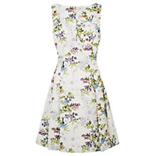 Buy Oasis Posey Print Jacquard Dress, Multi Online at johnlewis.com