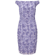 Buy Ariella Nora Off the Shoulder Dress, Lavender Online at johnlewis.com