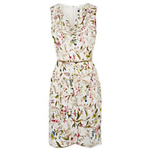 Buy Oasis V&A Kilburn Cowl Neck Dress, Multi Online at johnlewis.com