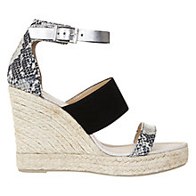 Buy Mint Velvet Greta Espadrille Sandals, Multi Suede Online at johnlewis.com