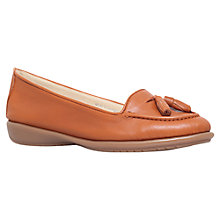 Buy Carvela Comfort Como Leather Loafers, Tan Online at johnlewis.com