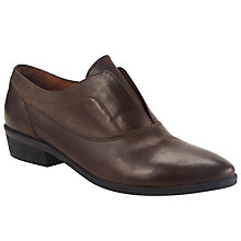 Buy Collection WEEKEND by John Lewis Fontaine Leather Brogue, Brown Online at johnlewis.com