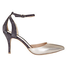 Buy Mint Velvet Alexa Leather Ankle Strap Court Shoes Online at johnlewis.com