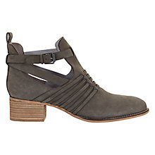 Buy Mint Velvet Jodie Nubuck Ankle Boots, Grey Online at johnlewis.com