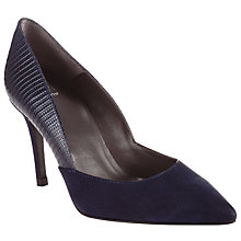 Buy Kin by John Lewis Alba Leather Pointed Court Shoes Online at johnlewis.com