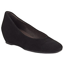 Buy John Lewis Alara Wedge Heeled Suede Court Shoes Online at johnlewis.com