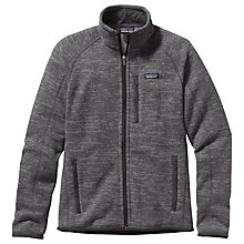 Buy Patagonia Better Sweater Men's Fleece Jacket, Grey Online at johnlewis.com