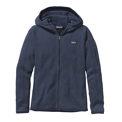 Patagonia Better Sweater Full Zip Women's Fleece Hoodie, Navy
