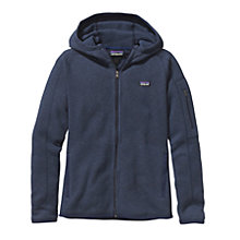 Buy Patagonia Better Sweater Full Zip Women's Fleece Hoodie, Navy Online at johnlewis.com