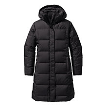 Buy Patagonia Duck Down With It Women's Parka, Black Online at johnlewis.com